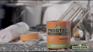 Shurtape CP-199 Ruban de peintre de qualit/é professionnelle de marque FrogTape Orange Haute adh/ér: 0.94 in. x 60 yds.