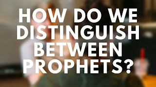 Bring It On-Line: True Prophets and False Prophets