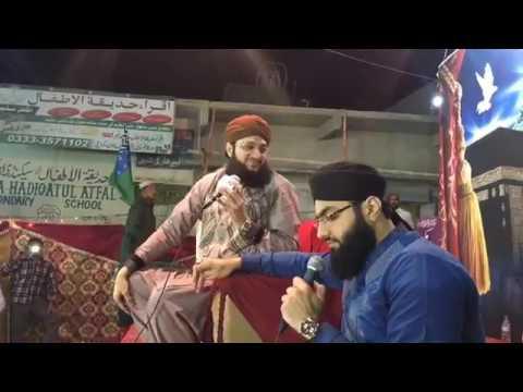 Hafiz Tahir qadri sahab and Hafiz ahsan qadri latest live mehfil e naat from orangi town karachi.