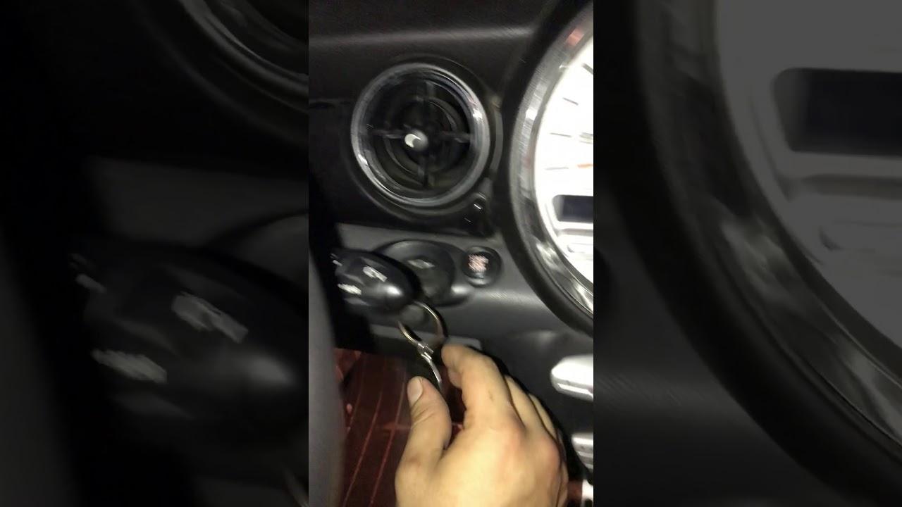 2007 Mini Cooper S Still Running After Key Remove