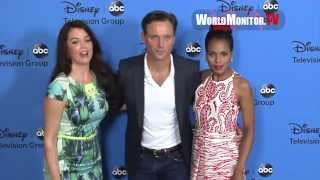 Cast Of 'scandal' Arrive At 2013 Disney And Abc Tca Summer Press Tour Party
