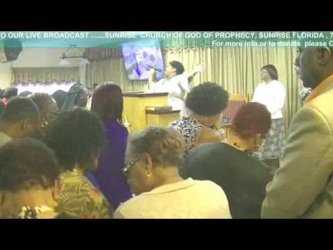 SUNRISE CHURCH OF GOD OF PROPHECY