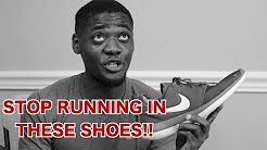 STOP WEARING THESE SNEAKERS! ( Runners vs Running Shoes )   Nike Roshe , Adidas NMD vs Running shoes