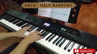 Halo Halo Bandung - piano cover - aransemen instrumen oleh junfarabi