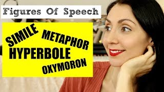 Learn Figures of Speech: Simile, Metaphor, Hyperbole & Oxymoron  | LIVE English Lesson