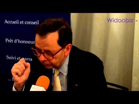 Louis Schweitzer, président d'Initiative France : de la vitalité et du savoir-faire pour réussir !