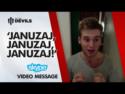 'Januzaj,Januzaj,Januzaj!' | Manchester United 2-0 Swansea City | SKYPE FAN REVIEW