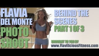 Female Fitness Model Cover Shoot - Flavia Del Monte (Part 1 of 3)