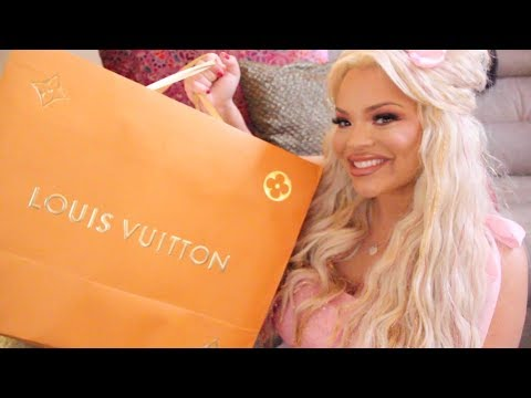 VALENTINE'S DAY $3,000 LOUIS VUITTON UNBOXING! (JEFF KOONS COLLECTION)