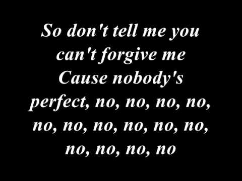 Jessie J - Nobody's Perfect Lyrics