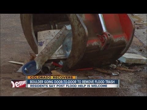 Flood Trash Cleanup Starts In Boulder