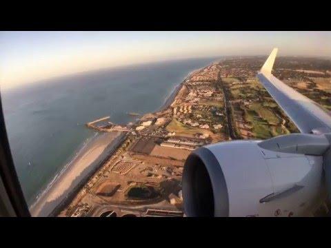 Qantas QF674 Adelaide to Melbourne - Beautiful sunny takeoff
