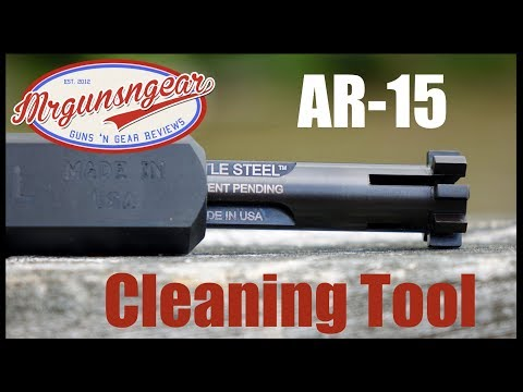 Battle Steel Carbon Killer & Lug Scraper Cleaning Tool For AR-15s Review (HD)