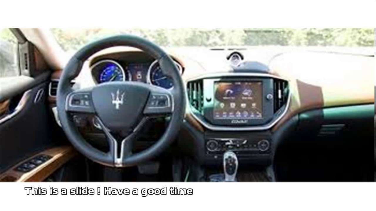 Maserati Ghibli 0 60 Youtube