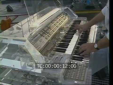 Jean Michel Jarre - Preparation For The Concert Lyon 1986