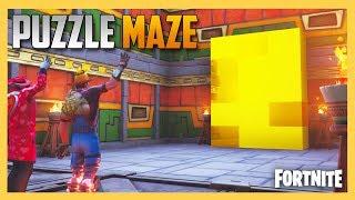 Fortnite Creative PUZZLE MAZE by JeffVH! | Swiftor