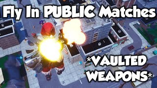 Ce Glitch Let's You FLY In Public Games... (Fortnite Saison 8)