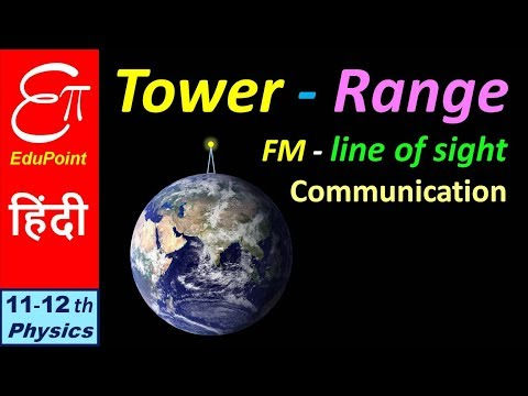 🔴 TOWER RANGE in FM || Communication System - Part 6 || in HINDI