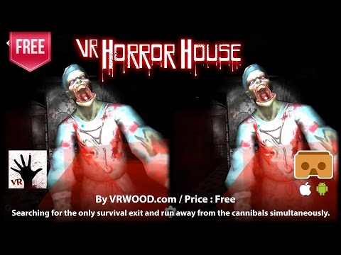 VR Horror House - One of The Best Free VR horror for Google Cardboard (Android & iOS)