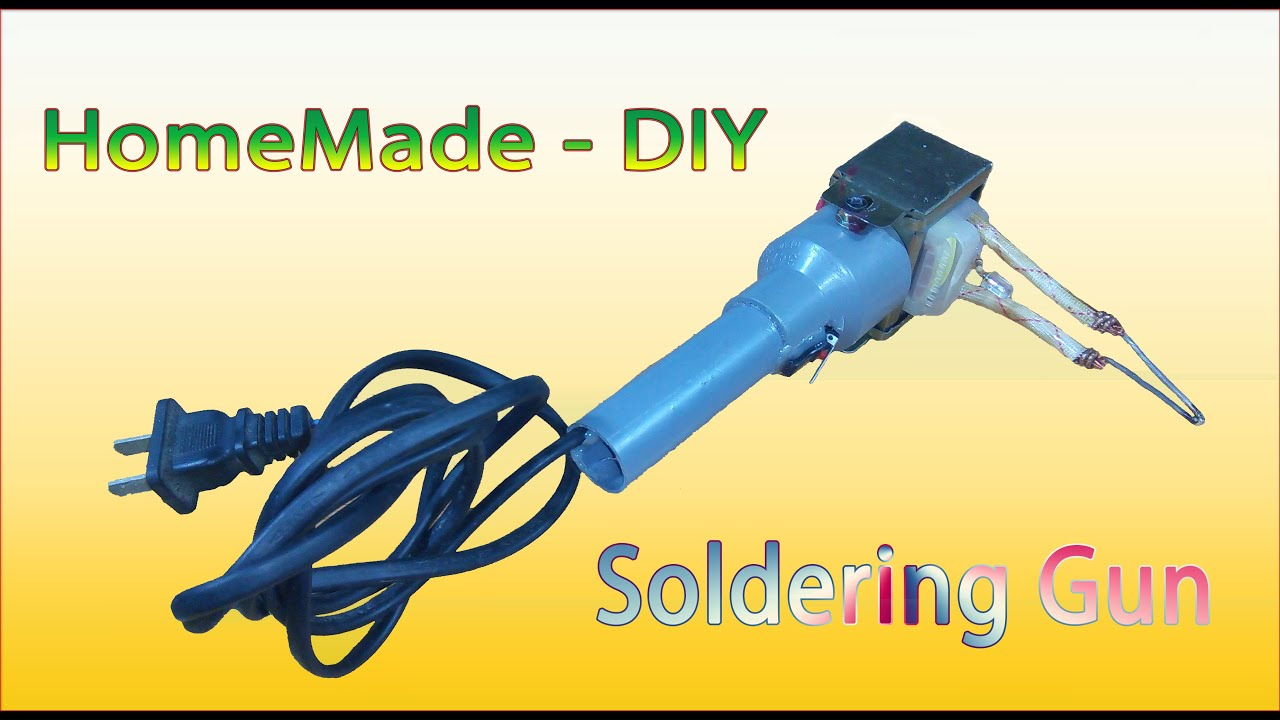 Tutorial homemade diy how to make soldering gun from tutorial homemade diy how to make soldering gun from transformers youtube solutioingenieria Images