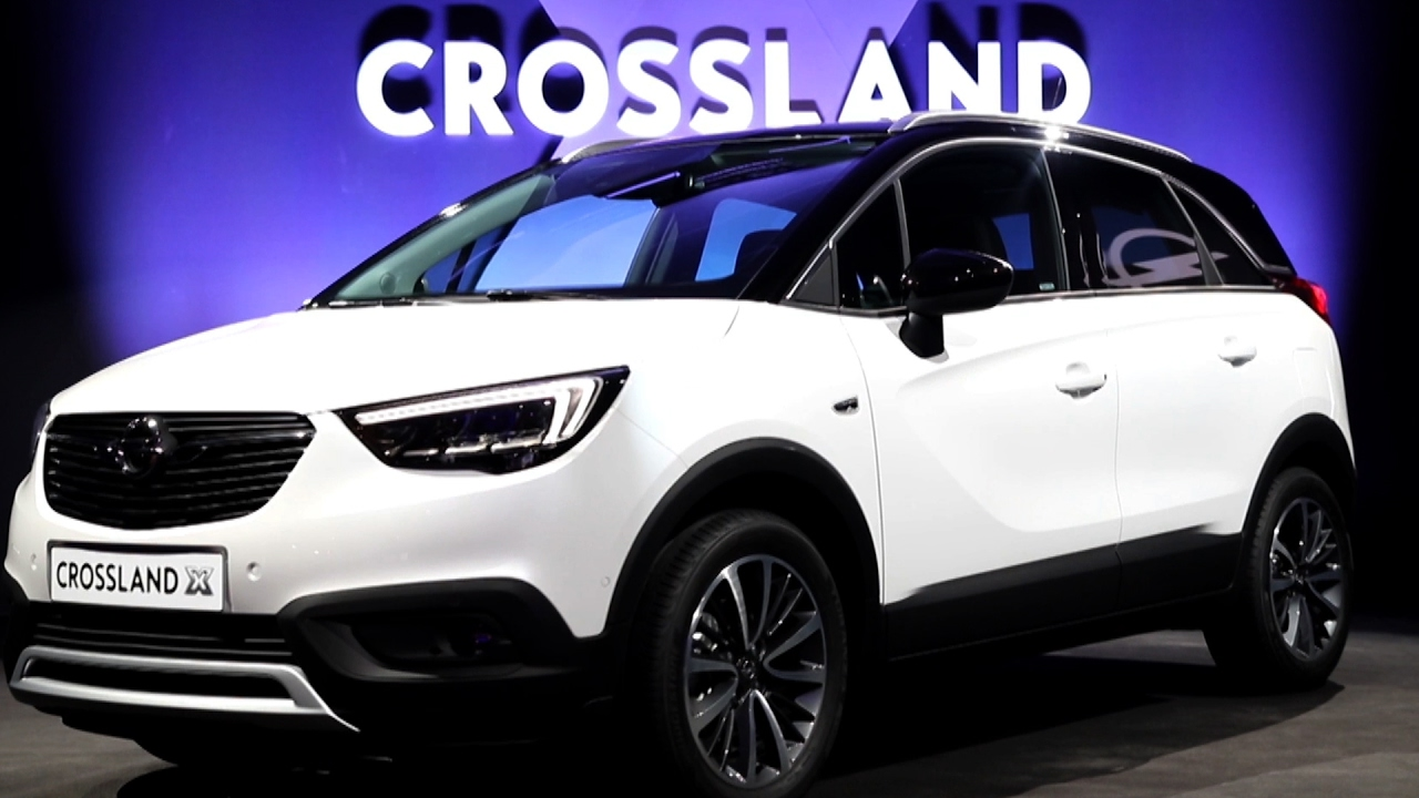 opel crossland x 2017 sajt bemutat youtube. Black Bedroom Furniture Sets. Home Design Ideas