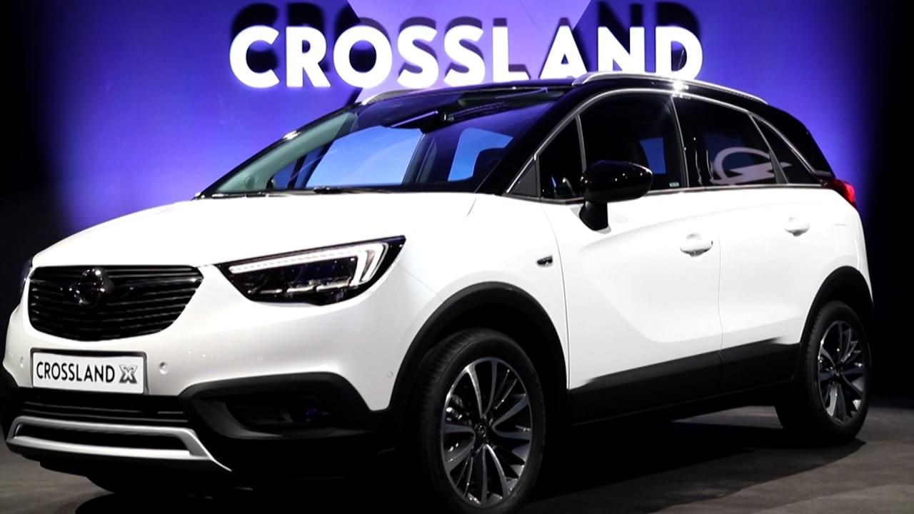 Opel Crossland X (2017) Sajtóbemutató - YouTube