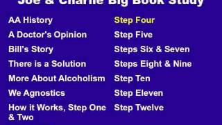 Joe & Charlie Big Book Study Part 9 of 15 - Step Four