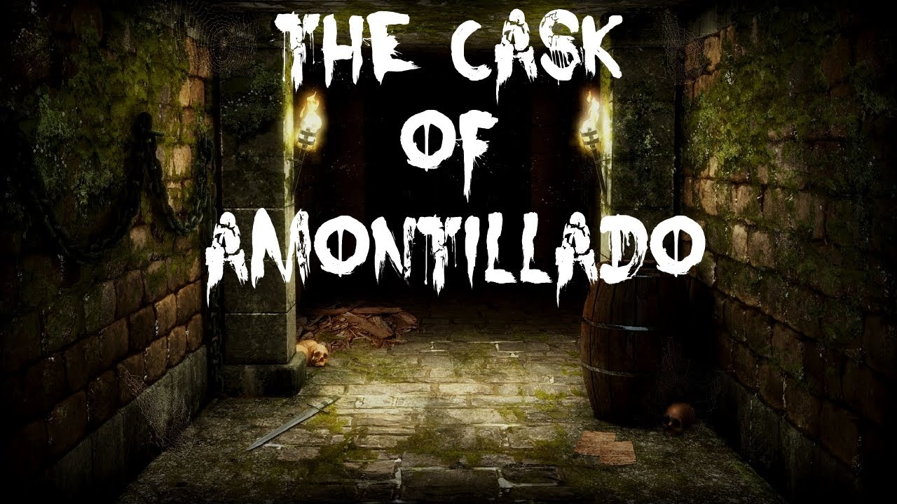 cask of amantillado The thousand injuries of fortunato i had borne[1] as i best could, but when he ventured upon insult i vowed revenge you, who so well know the nature of my soul, will not suppose, however, that gave utterance to a threat.