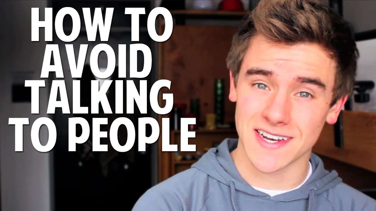 How to stop yourself from talking to someone