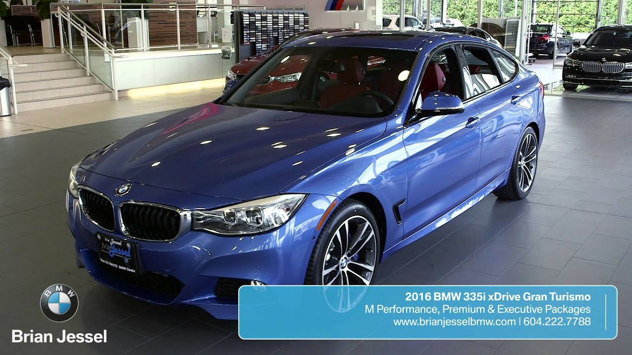 2016 bmw 335i xdrive gran turismo at brian jessel bmw youtube. Black Bedroom Furniture Sets. Home Design Ideas