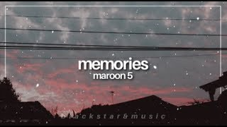 memories || maroon 5 || traducida al español + lyrics