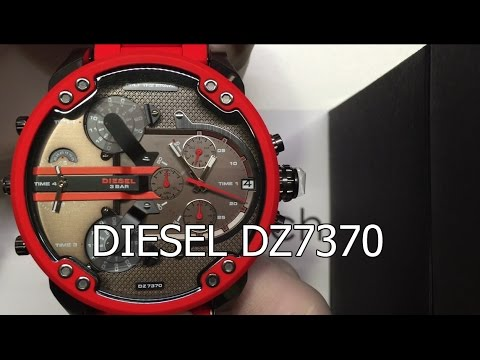 81a2835c80c1 Diesel DZ7370 Mr. Daddy 2.0 Series Red New Collection   elitshop.ch ...