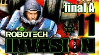 Robotech Invasion (Ending A) gameplay walkthrough Part 11 [PS2, XBOX]