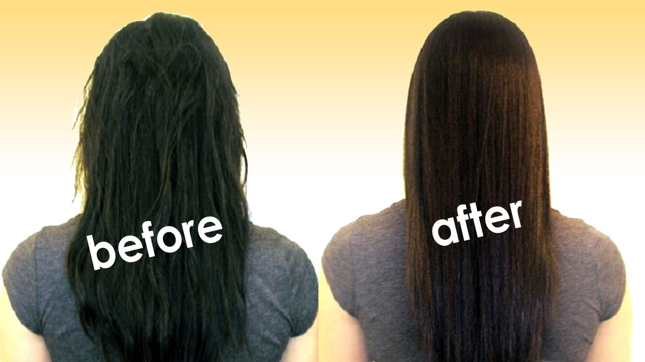 Smoothing Step By Step Permanent Hair Straightening