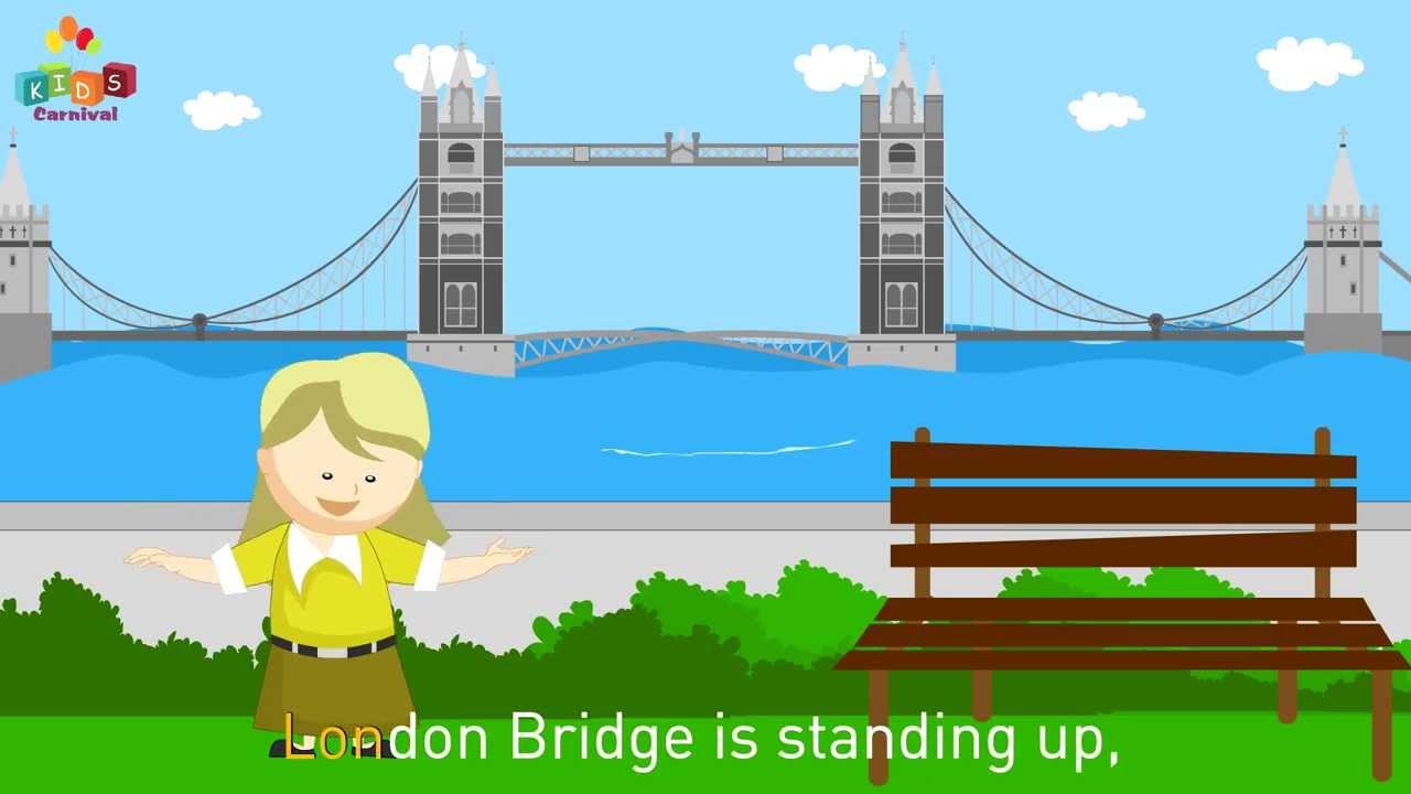 London Bridge Is Falling Down Nursery Rhymes Play School Songs Easy To Learn You
