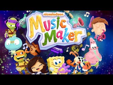 Making KID FRIENDLY Music (Nickelodeon Music Maker)