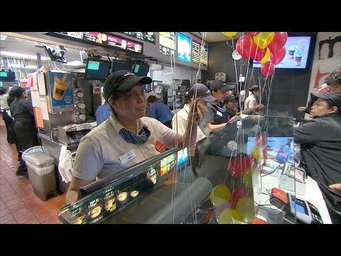U.S. states, cities raising minimum wage