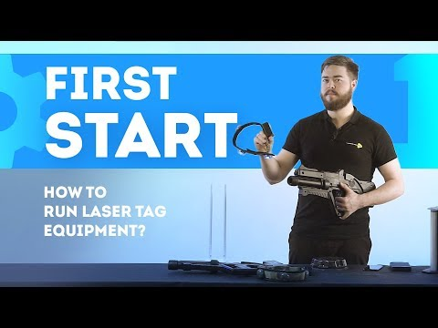 How To Run Laser Tag Equipment?  [part 1]