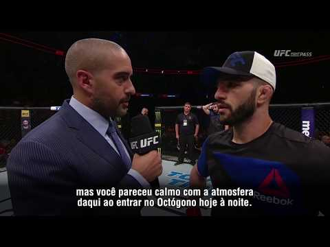 UFC Oklahoma: Entrevista de octógono com Jared Gordon