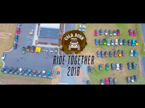 2016 Ride Together - Gold Rush Jeeps