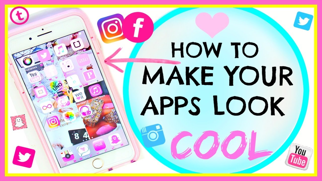 How To Make Your Apps Look Cool No Jailbreak Make Your Apps Pink