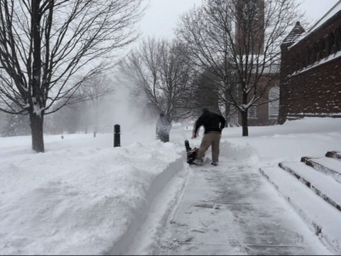Nor'easter Drops 3rd-Biggest Snowfall in VT City