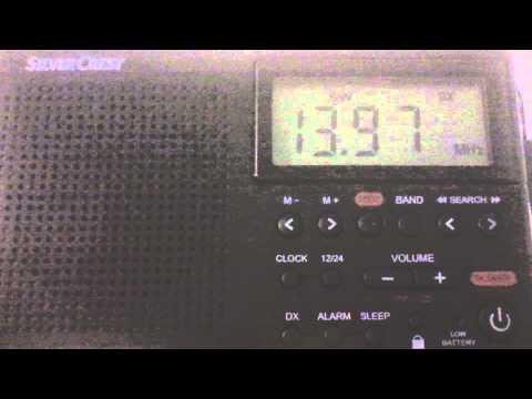 13.970 mhz - Station: SOH Xi Wang Zhi Sheng - Taichung (Taiwan)