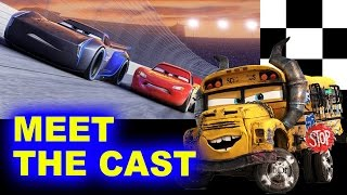 Cars 3 New Characters - Beyond The Trailer