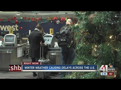Winter weather causing delays across the U.S.