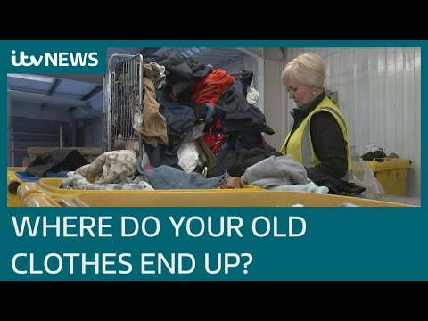 Calls for tougher regulation of international second hand clothes industry | ITV News