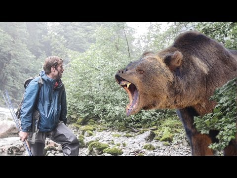 Woah Bear!@*$!# You won't believe how stupid this guy is!!!