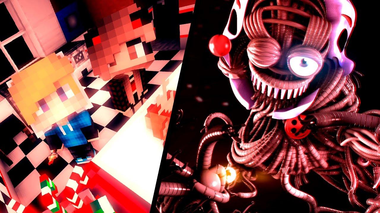 АНИМАТРОНИКИ ЛУЧШИЙ ПОДАРОК #09 - ПЯТЬ НОЧЕЙ С ФРЕДДИ В МАЙНКРАФТ!  КАК СДЕЛАТЬ ПОРТАЛ В МИР ФНАФ!