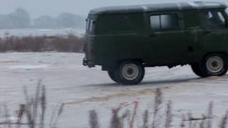 UAZ-452 drift