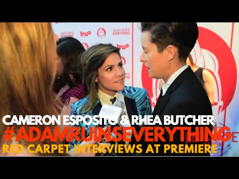 Thumbnail: Interview with Cameron Esposito & Rhea Butcher at Adam Ruins Everything Event #TakeMyWife #Seeso